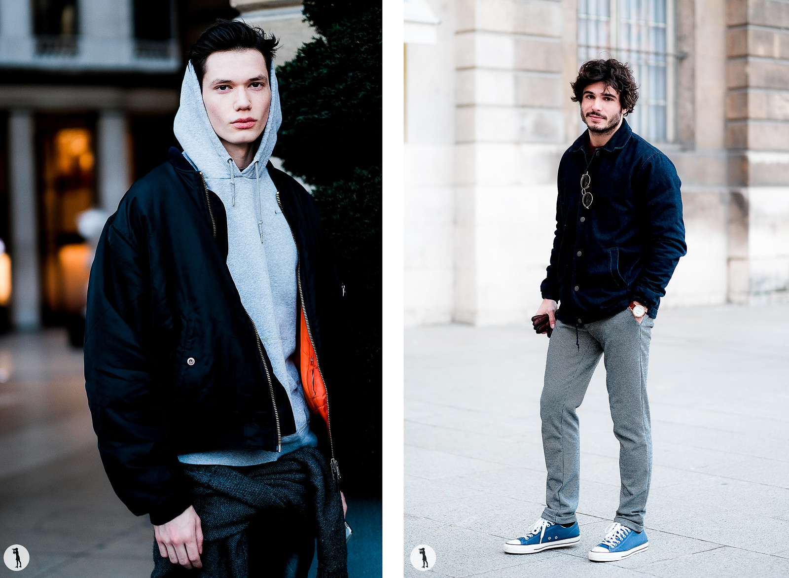 Street style - - Paris Fashion Week Menswear FW17-18