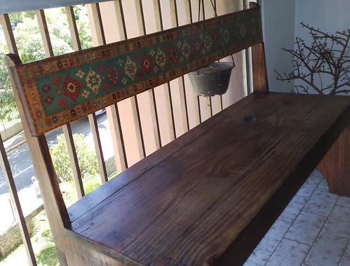 Banca para el comedor bench to the dining room esta banc flickr - Bancas para comedor ...