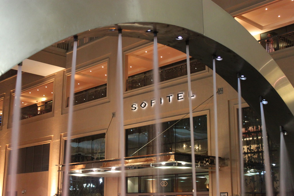 Sofitel Hotel Dubai Jumeirah Beach Hotel Entrance The