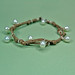 Hemp cord pearl bracelet