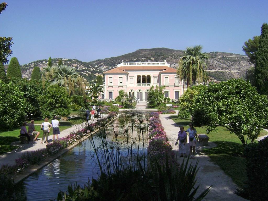 Villa Ephrussi de Rothschild et jardin, Cap Ferrat, Côte d ...