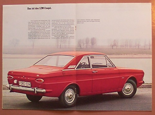 Ford Taunus 12M Coupe | Original advertising brochure from m… | Flickr