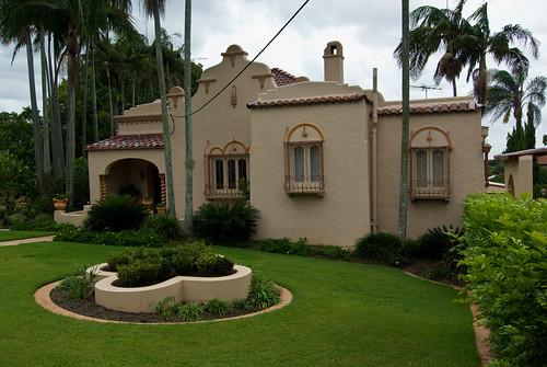 Andalusian 517 Home Designs In Victoria: 1920s Hacienda Style House In Brisbane, Australia