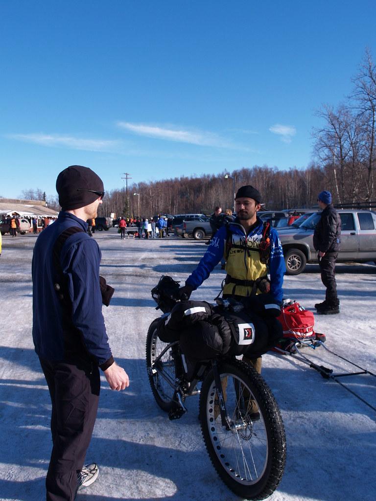 Iditarod Trail Invitational with nice invitation design