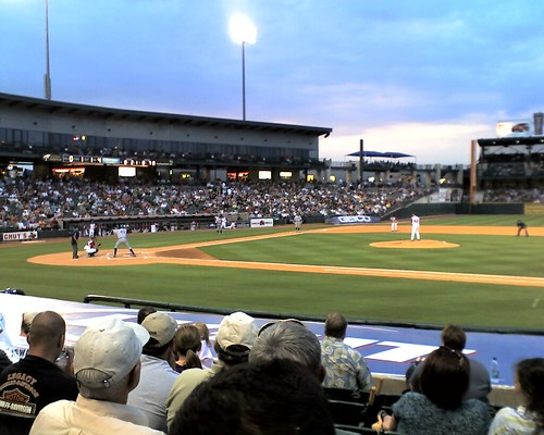 Iowa Cubs at Bat | by Tim Patterson