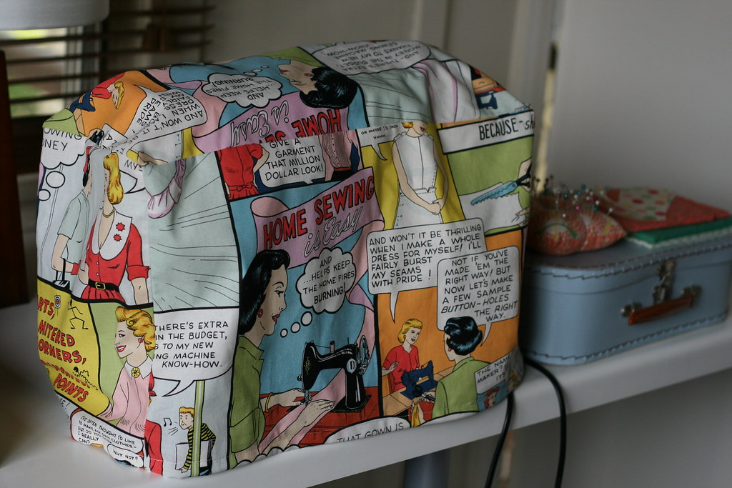 Sewing Machine Cozy Sewing Machine Cozy Pattern From SEW Flickr Enchanting Sewing Machine Cozy