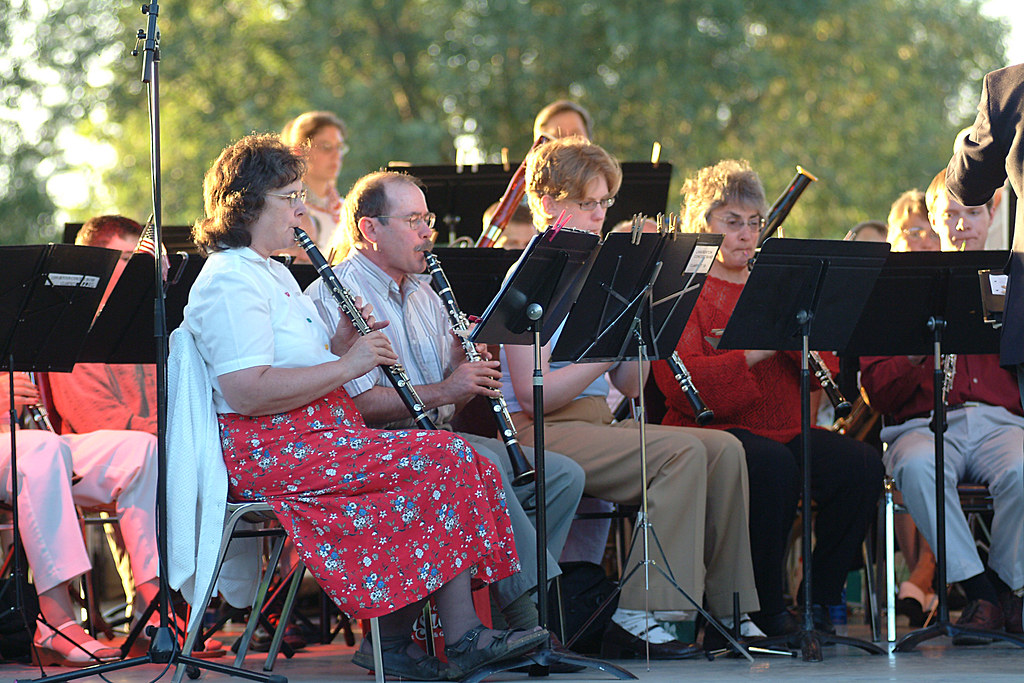 Monday's at Monteith 2004 | LBCC Concert Band | City of ...