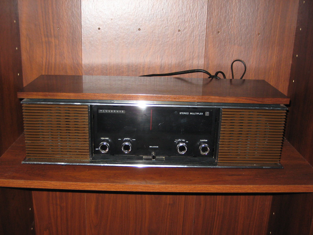 Vintage Panasonic Radios