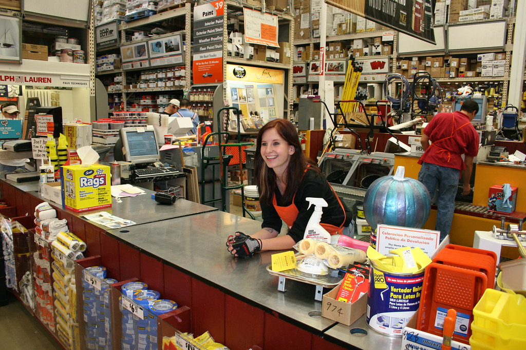 Mercedes At Work Home Depot Paint Department One Of My