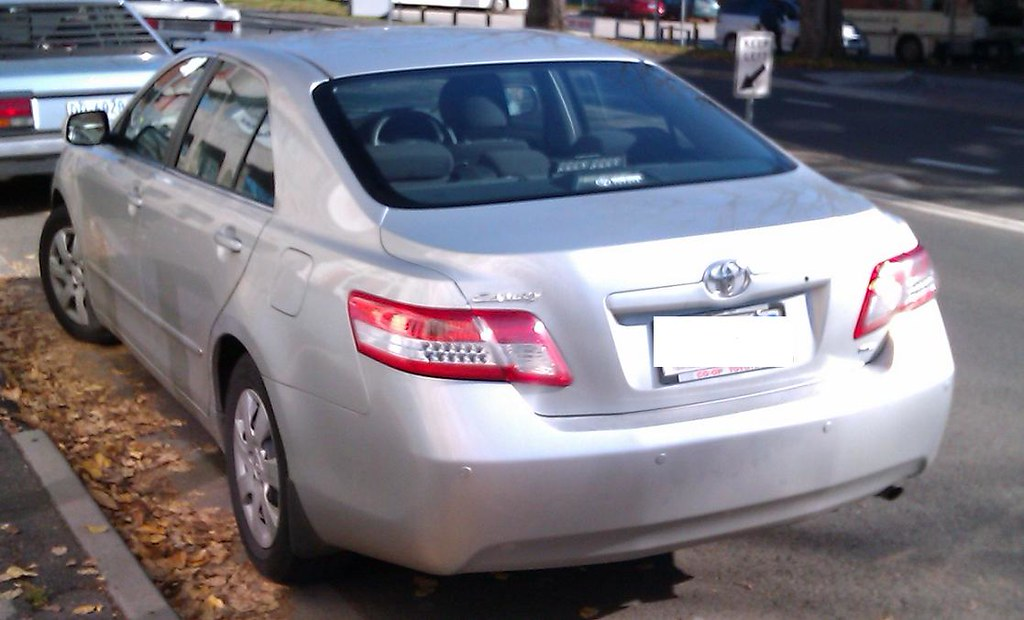 Tasmania Police Unmarked Toyota Camry Rear Led Deck