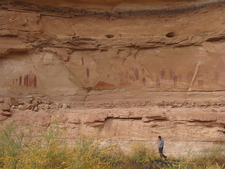 the Great Gallery, Horseshoe Canyon | by derekjou
