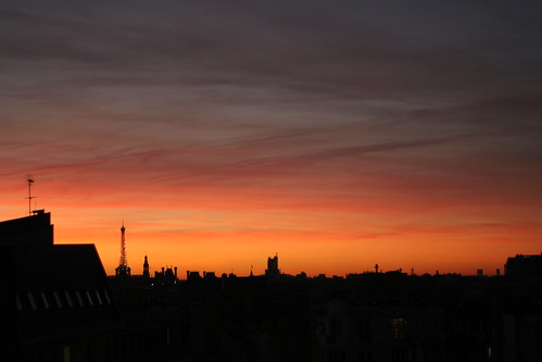 Paris Sunset | by David Lebovitz