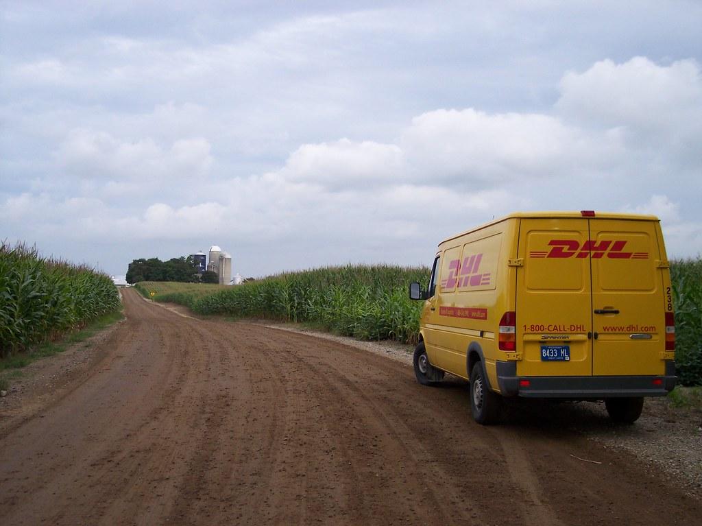DHL cornfield