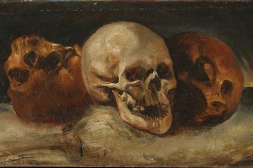 Gericault-trois-crânes-Montargis