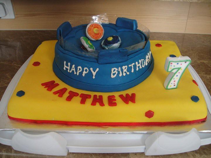 Beyblade Birthday Cake Images