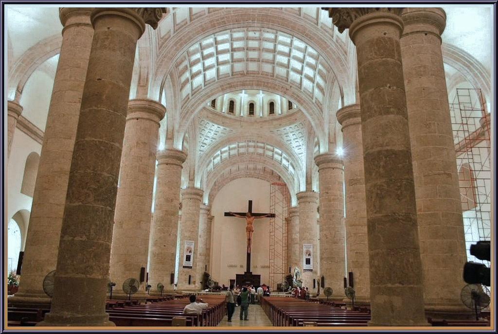 Catedral de m rida san ildefonso siglo xvi m rida estado for Muebles de oficina merida yucatan