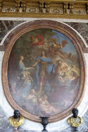 Versailles ch teau de versailles salon de la paix lo for Salon louis 15