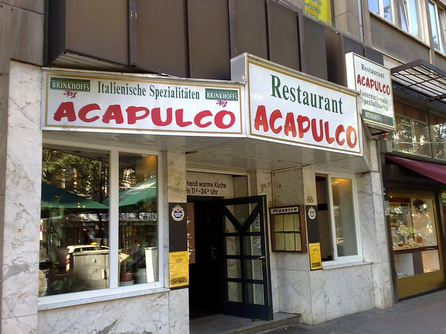 Italian Restaurant Names: Italian Restaurant, Mexican Name, In Germany, Run By A Rom
