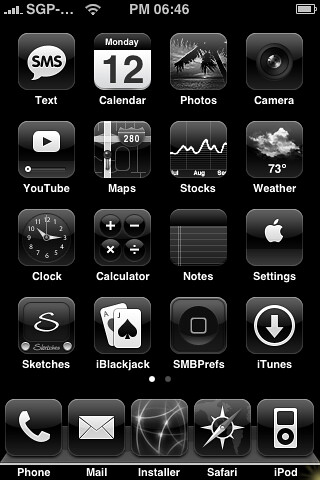 iphone message theme black iphone theme my new all black 1 1 1 iphone roger 12033