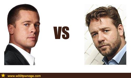 Brad Pitt vs Russell C...