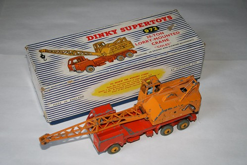 Dinky Supertoys 972 - 20-ton Lorry-mounted Crane (1) | by Stephen Edmonds