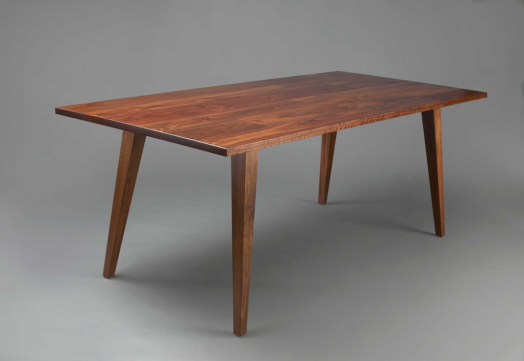 Dining table mid century modern contemporary dimensions flickr - Dining room table contemporary ...