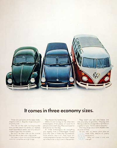 VW_Vintage_Ads_67_Beetle_Squareback_Bus | by VW Canada