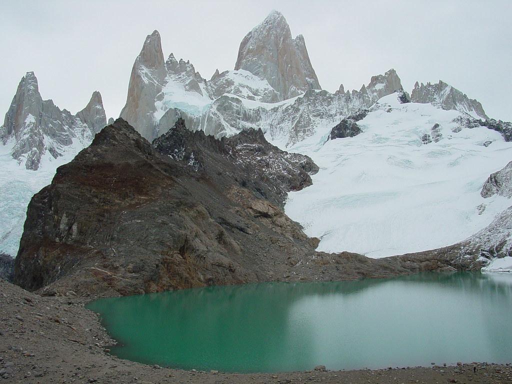 Vagamundos 2003 El Chaltén, Fitz Roy, cerro Torre Patagonia Argentina