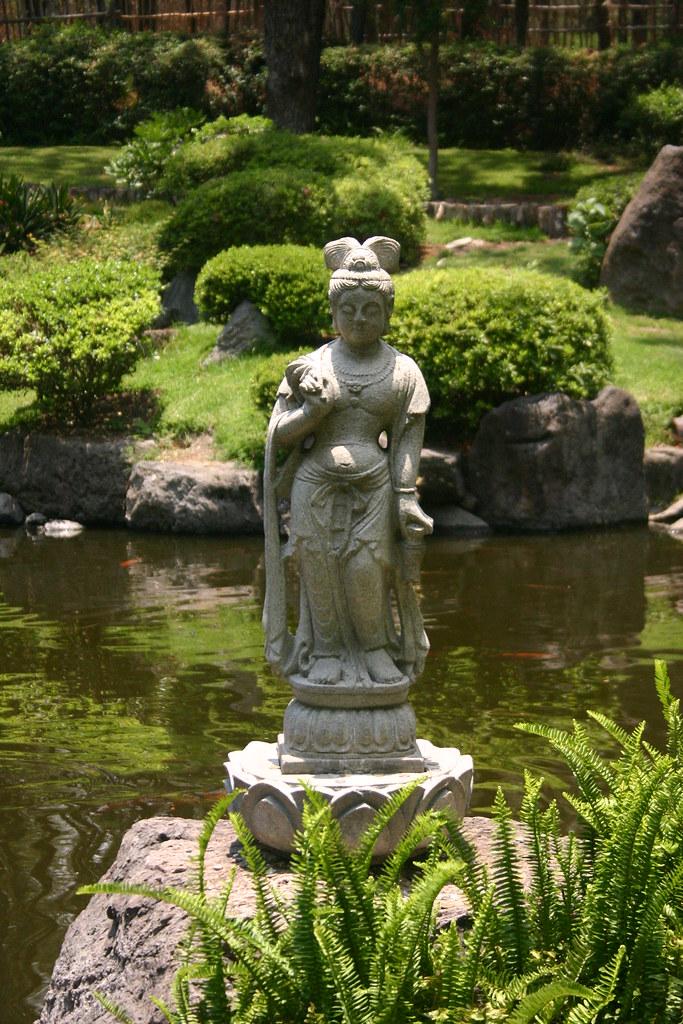 Escultura Jardin Japones Parque Colomos Guadalajara Ja Flickr - Escultura-jardin