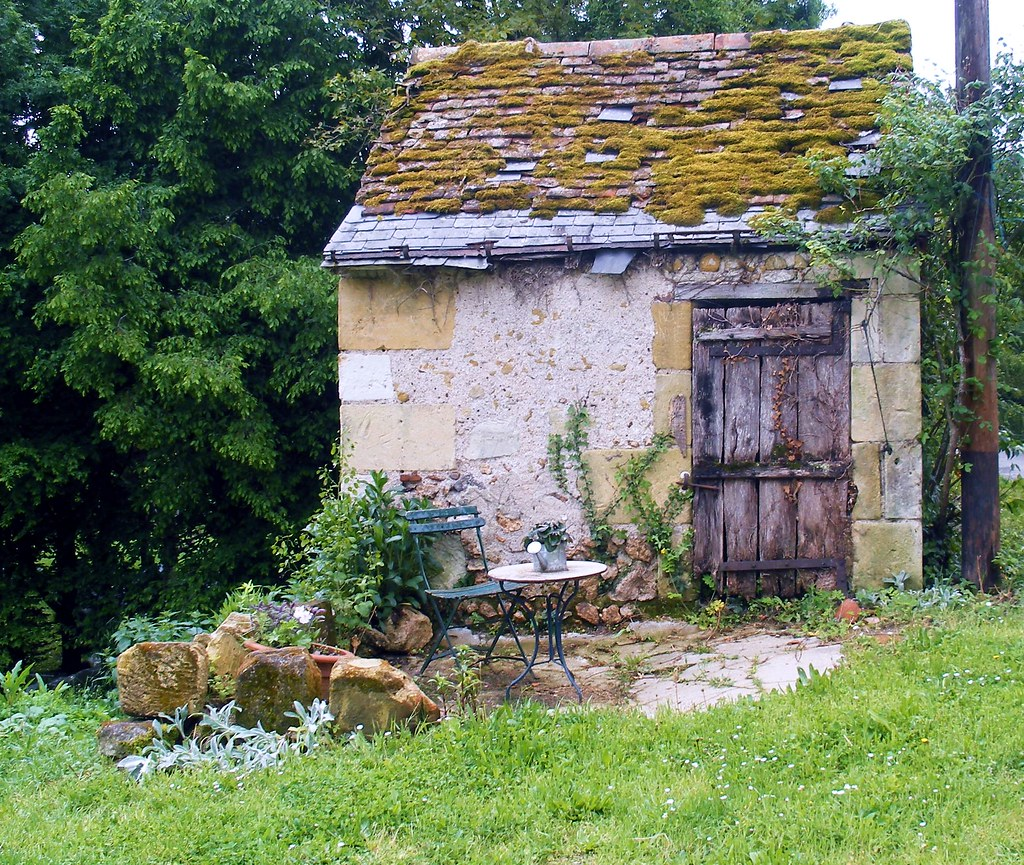 garden shed french style scrappy annie flickr. Interior Design Ideas. Home Design Ideas