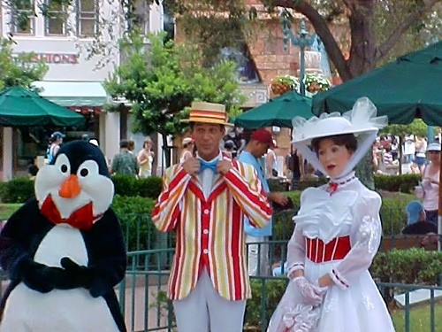 Mary Poppins Bert Penguins Bert And Mary Poppins | by