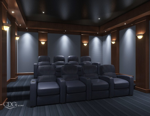 contempo theater design home theater interior design con flickr. Black Bedroom Furniture Sets. Home Design Ideas