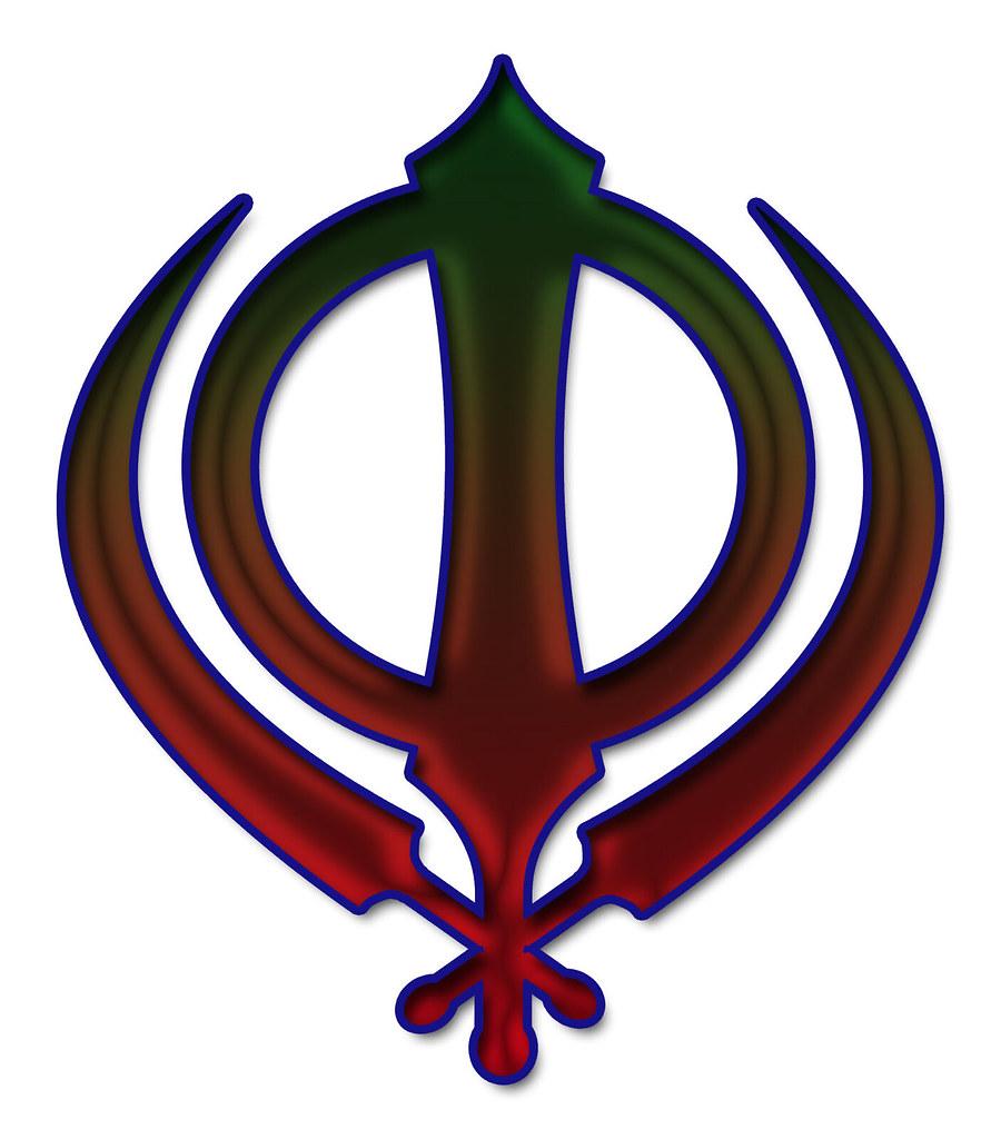Sikh Symbol Dark Brown Khanda The Insignia Of The Khalsa Flickr