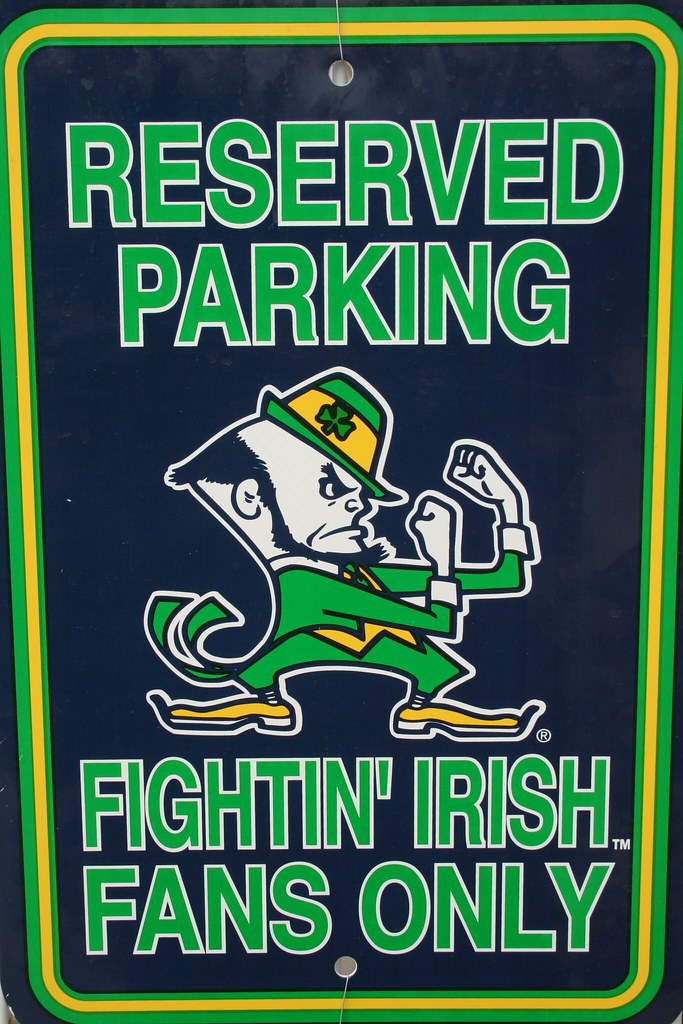 fighting irish notre dame
