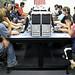LAN table in the Teen Tech Lab