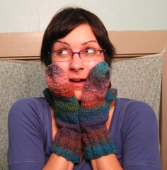071202. noro kureyon mittens, all done. so exciting! | by Famous the Cat
