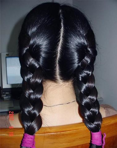 Perfect Twin Braids Chotlo Flickr