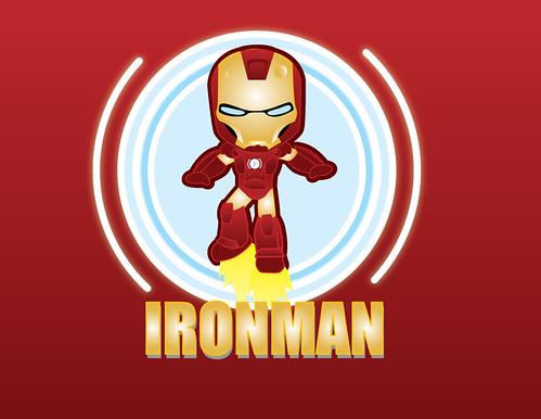 Cute Iron Man Wallpaper Ironman   by yo Mostro