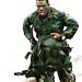 Policial Camuflado COMAF (Comando de Operações em Mananciais e Áreas de Floresta) - GATE PMMG