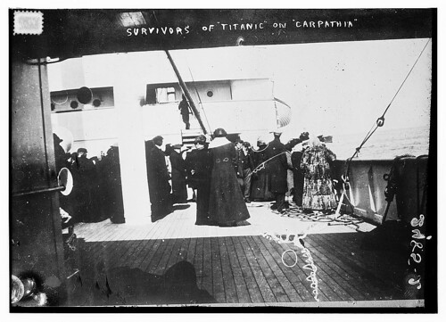 Survivors of TITANIC on CARPATHIA  (LOC) | by The Library of Congress