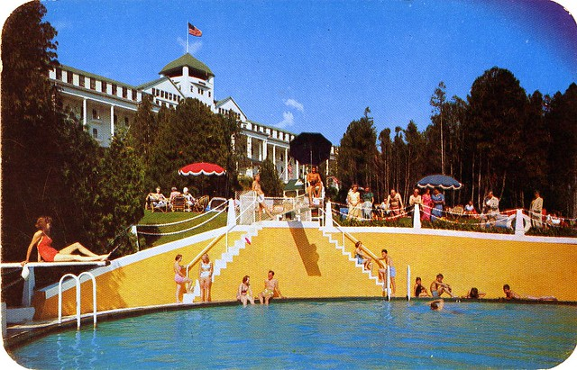 Pool And Grand Hotel Mackinac Island Mi Flickr Photo Sharing