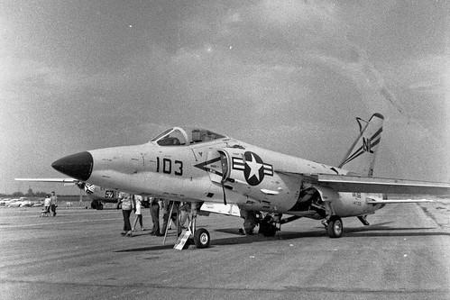 Grumman F11F Tiger in July 1957 | In modified form it set ...