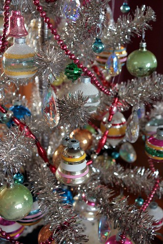 Images Of Decorated Old Fashioned Christmas Trees