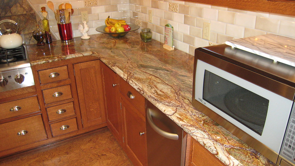 Rainforest Brown Granite Countertops | Superior M & G | Flickr