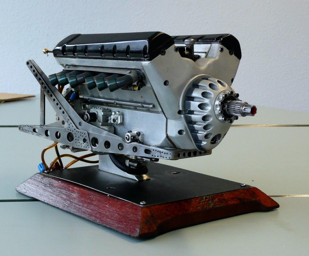 Rolls Royce 3d Model Free >> Rolls Royce Merlin - Model engine   Real combustion engine, …   Flickr