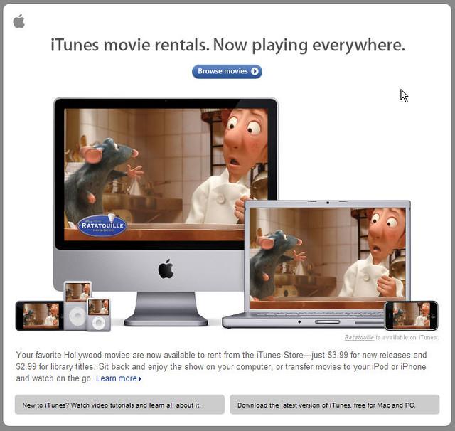 Appletv movie rentals