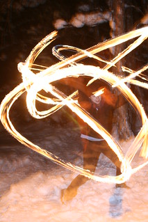 Jamie's fire poi | by Janetterie