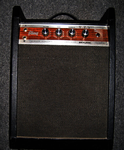 vintage gibson skylark tube amp 300 1967 gibson skylark t flickr. Black Bedroom Furniture Sets. Home Design Ideas
