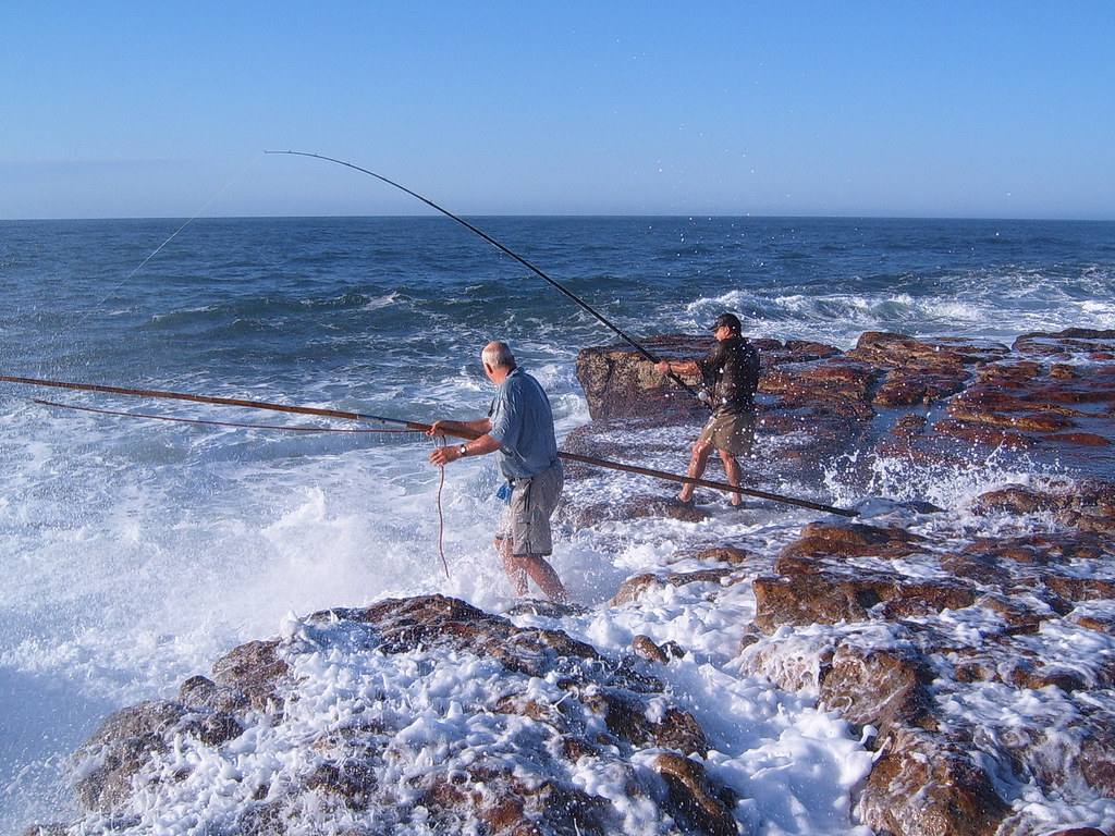 Shark fishing in transkei south africa this photo is for Bay area fishing spots