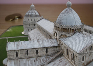 Pisa Cathedral Desk Model | by erikrasmussen